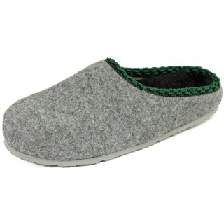 Felt clogs with footbed - Grey