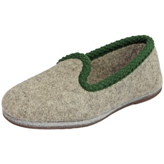 37fe1eb354c Top quality felt slippers with rubber soles