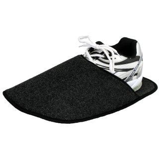 Museum slipper anthracite with / without ABS sole