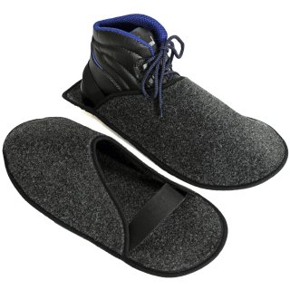Craftsman slippers with ABS sole